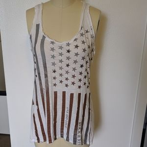 American Flag Studded Tank by Rock & Republic